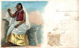 DEMERARA, Native Coolie Girl  BRITISH GUIANA GUYANE BRITANNIQUE GUAYANA GUYANA - Postales