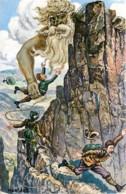 Surrealismus - Rübezahl Und Die Unvorsichtigen - Seigneur De La Montagne - Créature Du Folklore Germanique - - Autres