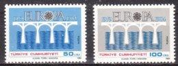 Turkije Turquie 1984 Yvertn° 2425-2426 *** MNH  Cote 12,50  € Cept Europa - Europa-CEPT