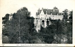N°76460 -cpa Saint Pierre De Maillé -château De La Guittière- - Otros Municipios