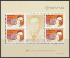 PORTUGAL Block 40, Postfrisch **, Europa CEPT:  Große Werke Des Menschlichen Geistes 1983 - Europa-CEPT