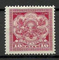 LETTLAND Latvia 1925 Michel 113 * - Latvia