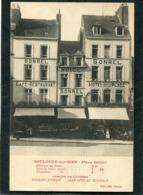 CPA - BOULOGNE SUR MER - Place Dalton - Hôtel SONREL, Hôtel De La Place, Animé - Boulogne Sur Mer