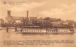 België   Gemeente Steendorp Pleziertochtjes Op De Schelde Tussen Temse En Antwerpen Per Stoomboot WILFORD      M 1146 - Temse