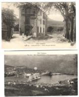 COLLIOURE 2 Belles Cpa Hôtel Bougnol-Quintala + Vue Panoramique Env. 1908 - Collioure