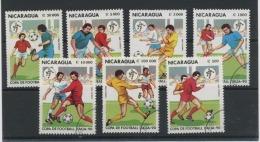 NICARAGUA - SPORT FOOT ITALIA 90 - N° Yvert ? Obli. - Nicaragua
