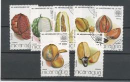 NICARAGUA -FRUITS - N° Yvert ? Obli. - Nicaragua
