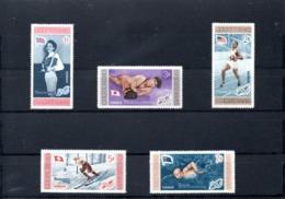 R.Dominicana Nº 504-08 Olimpiadas, Serie Completa En Nuevo 2,50 € - Sommer 1956: Melbourne