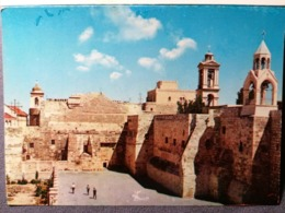 Old Vintage Beautiful Postcard CHURCH OF NATIVITY Betlemme Jerusalem Bethlehem Jordan 1960's / 70's Phila - Giordania