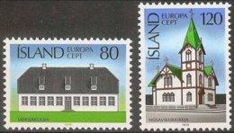 Islande Iceland Ijsland 1978 Yvertn° 483-484 *** MNH  Cote 4  € Cept Europa - Europa-CEPT