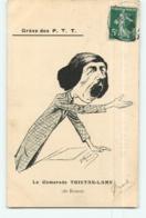 ROUEN - Grève Des P .  T . T . - Le Camarade Tristan LAMY - Illustrateur MURER - Politique Satirique - 2 Scans - Grèves