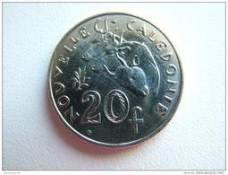 Pièce De 20 Francs De Nouvelle Calédonie Année 2012 - Nieuw-Caledonië