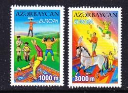 Europa Cept 2002 Azerbaijan 2v ** Mnh (45188H) Promotion - 2002
