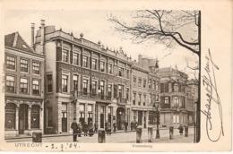 Utrecht, Vredenburg Met Haagsche Koffyhuis 1904 - Utrecht