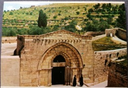 Old Vintage Beautiful Postcard TOMB OF THE VIRGIN MARY Jerusalem Gerusalemme Bethlehem Jordan 1960's / 70's - Giordania