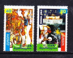 Europa Cept 2002 Georgia 2v ** Mnh (45188J) - 2002