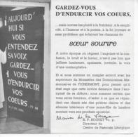 """Soeur Sourire 45t. SP PROMO H.C. """"entre Les étoiles"""" - Other - French Music"""