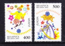 Europa Cept 2002 Belarus 2v ** Mnh (45187L) Promotion - 2002
