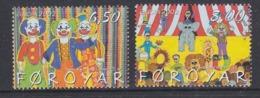 Europa Cept 2002 Faroe Islands 2v ** Mnh (45187M) ROCK BOTTOM PRICE - 2002