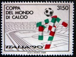 (dcbv-1199)  Italy  -  Italie  -  Italië      Mi  2049      Yv  1782       1988     MNH - 1990 – Italien