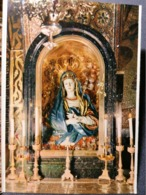 Old Vintage Beautiful Postcard STATUE OF B.V. MARY Jerusalem Getsemani Jordan 1960's / 70's - Giordania
