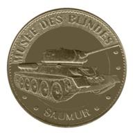Monnaie De Paris , 2015 , Saumur , Musée Des Blindés , Char T34 - Monnaie De Paris