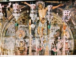 Old Vintage Beautiful Postcard THE CALVARY Jerusalem Getsemani Jordan 1960's / 70's - Giordania