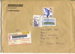Germania (2000) - Busta Assicurata Per L'talia - [7] Repubblica Federale