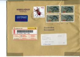 Germania (2000) - Busta Raccomandata Per L'talia - [7] Repubblica Federale