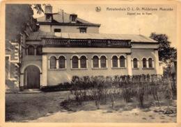 België  Moerzeke  Hamme  Retraitenhuis  Onze Lieve Vrouw Middelares  Zijgevel Van De Kapel      M 1152 - Hamme
