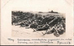 ! Vitry-en-Artois, Kriegsgefangene Engländer, POW, 1917, Carte Photo Allemande, 1. Weltkrieg, Guerre 1914-18, Fotokarte - Guerre 1914-18