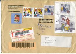 Germania (2002) - Busta Raccomandata Per L'talia - [7] Repubblica Federale