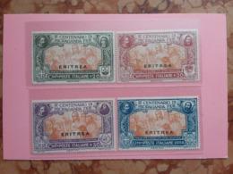 COLONIE ITALIANE - ERITREA - Propaganda Fide Nn. 61/64 Nuovi * + Spese Postali - Eritrea
