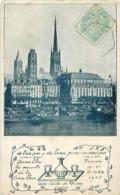 Cpa ROUEN 76 Assemblée Bis - Annuelle De La Croix Bleue 1905 - De L' Air Pur, De L'eau Pure, Un Coeur Pur - Rouen