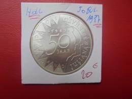 PAYS-BAS 50 GULDEN 1987 ARGENT (A.1) - [ 3] 1815-… : Regno Dei Paesi Bassi