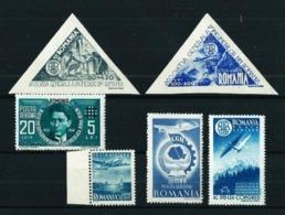 Rumanía Nº A-31-32/3-38-42/3 Nuevo - Nuevos