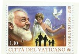 2018 - Vaticano 1806 Morte Di Padre Pio - Celebrità