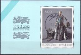 DENEMARKEN 2011 Blok Margrethe II GB-USED - Danimarca