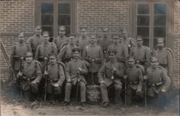 ! Danzig,  Photo , Fotokarte, Soldaten, Militär, Militaria, Landwehr - Danzig