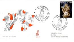 ITALIE : 2004 - FDC - Lega Del Filo D'oro (aide Aux Sourds-aveugles) - 1946-.. République
