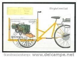 DENEMARKEN 2013 Blok Postvoertuigen GB-USED - Danimarca