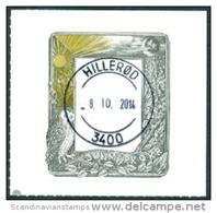 DENEMARKEN 2014 Postzegelkunst GB-USED - Danimarca
