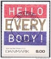 DENEMARKEN 2013 Hello Everybody GB-USED - Danimarca