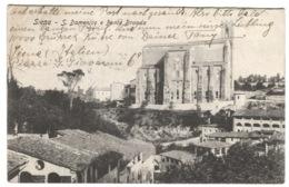 Siena S. Domenico E Fonte Branda Andata 1909 - Siena