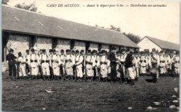 56 - Camp De MEUCON -- Avant Le Départ Pour Le Tir - Distribution De Cartouches - France