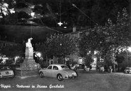 VARESE-VIGGIU'-PIAZZA GARIBALDI-NOTTURNO-1959-GANCIA-MARTINI-CINZANO - Varese