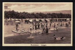 DE2686 - MANFREDONIA - SPIAGGIA - PEOPLE RELAXING ON THE BEACH - Manfredonia