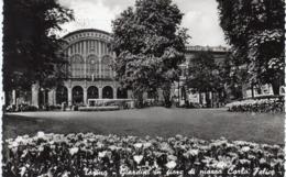 Torino - Stazione Porta Nuova - Giardini In Fiore In Piazza Carlo Felice - Fp Vg - Stazione Porta Nuova