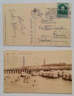 Belgio - Cartolina Illustrata Ostenda-Parma 16/08/1930 - Belgio