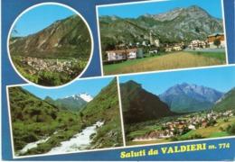 Cuneo - Saluti Da Valdieri - Fg Vg - Cuneo